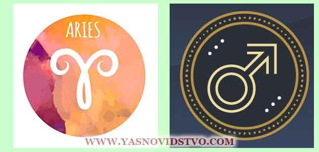 Марс в Овне 01 знаках Зодиака