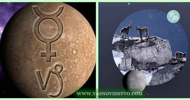 Меркурий в Козероге 10 знаках Зодиака